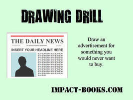News Art Drawing Drill by impactbooks