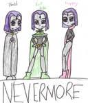 TT-Nevermore COLOURED by kelseyTHEttLUVR