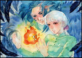 Howl's moving castle by KannyMOs