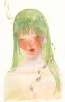 Green Koi by KannyMOs