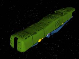 Zentraedi Flagship - Above by X1Commander