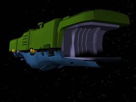 Zentraedi Flagship - Rear by X1Commander