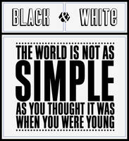 Black And White by rafejgoldberg