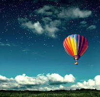 hot air balloon by matthey