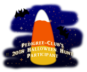 2018 Halloween Hunt Participant by PedigreeAdmin