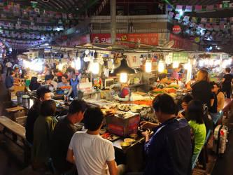 Gwangjang Market by heyheybuddy