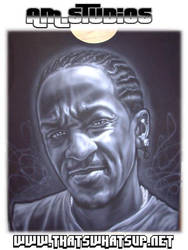 Mike G Airbrushed on Tshirt by mavensupreme