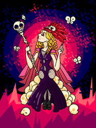 Queen ContraPoints by Eva-B-Blue