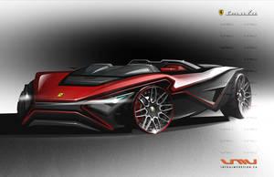 Ferrari Imola - Front by jmvdesign