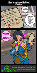 How we played Fallout by LucidARTDVC