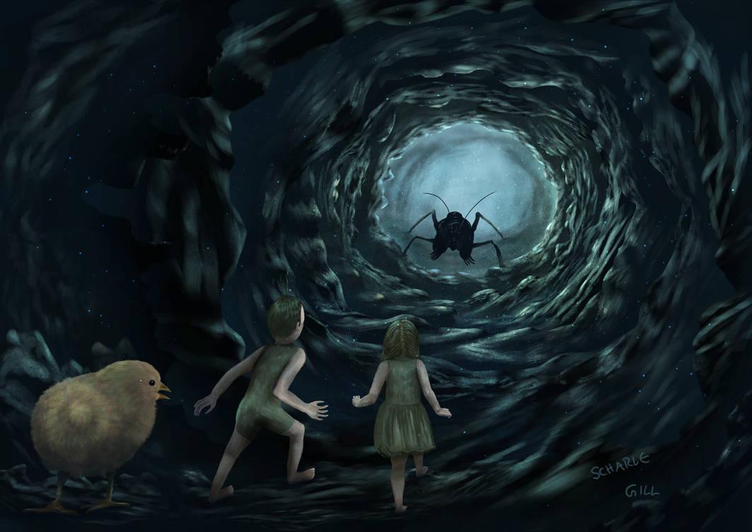 Lost - darker by Scharle