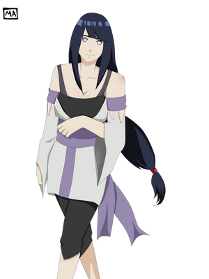 adult Hinata by Madarakula