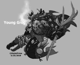 Young Grog by MalakPrime