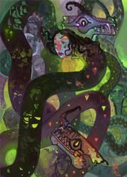 Sisiutl by Hel-gi