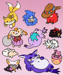 sonikku atsume by freedomfightersonic