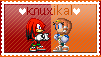 Knuxikal Stamp by GothScarlet