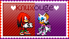 Knuxouge Stamp by GothScarlet