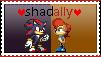 Shadally Stamp by GothScarlet