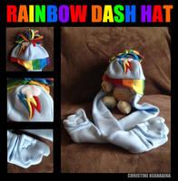Rainbow Dash 20% Cooler Hat by KurisuchinK