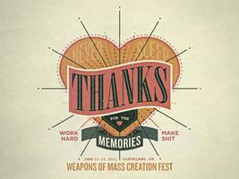 WMC Fest - Thanks by gomedia