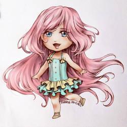 mint pink by TabrisDuCiel