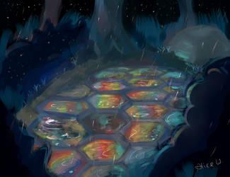 Rainbow Rain by AlliandoAlice