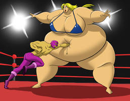 Claire vs the Masked Avenger 2 by FatClubInc