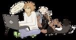 Bububu :[ Mimimi :] by NaurEvan
