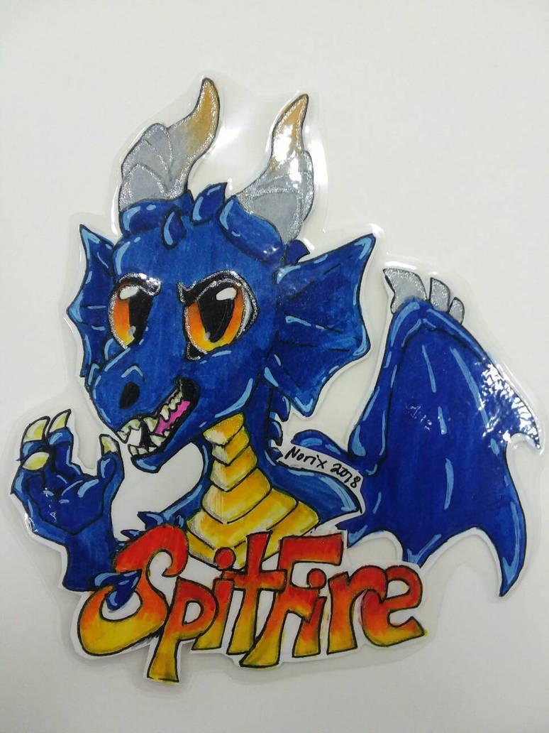 Norixious  (SpitFire) Badge by ThavaSheildbiter