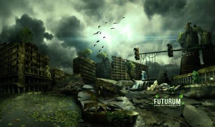 FUTURUM - Photoshop CS6 SpeedArt by BorisWick