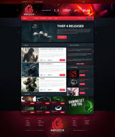 LGB eSport Web Design by BorisWick