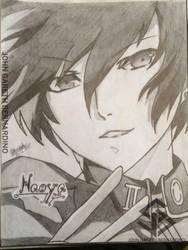 Persona 1 MC (Naoya) by jgarethbernardino