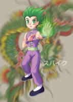 Dragon Kung-Fu Spike by Agu-Fungus