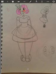 Robot OC by PrincessDemonica