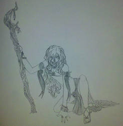 Mae - Pathfinder Oracle/Druid by AeiriMuse