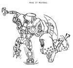 Robocop 2 vs Jason Voorhees by aaayyylmao