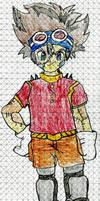 Digimon Monster Adventure 01Taichi 'Tai' Kamiya by MJW1915