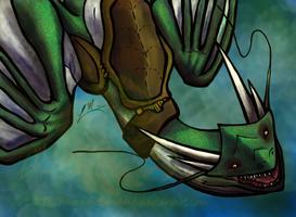happy dragon by LaraMuk