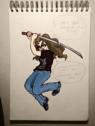 Warning for my super-skilled artist friends... by Shennondoah