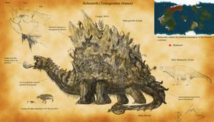 Behemoth (Terragerulus titanus) by jbconcepts87