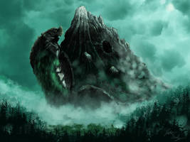 The Lonely Mountain (Behemoth redesign) by jbconcepts87