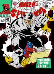 amazing spiderman 41 redraw by meme4holic