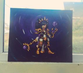 Frame Sorceress from Diablo 3 / HOTS by Kukirio