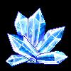 F2U Pixel Blue Crystals by MLPCrystalHarmony