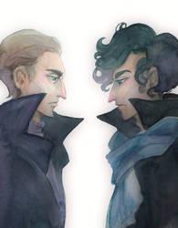 Two Sherlock by maru-redmore