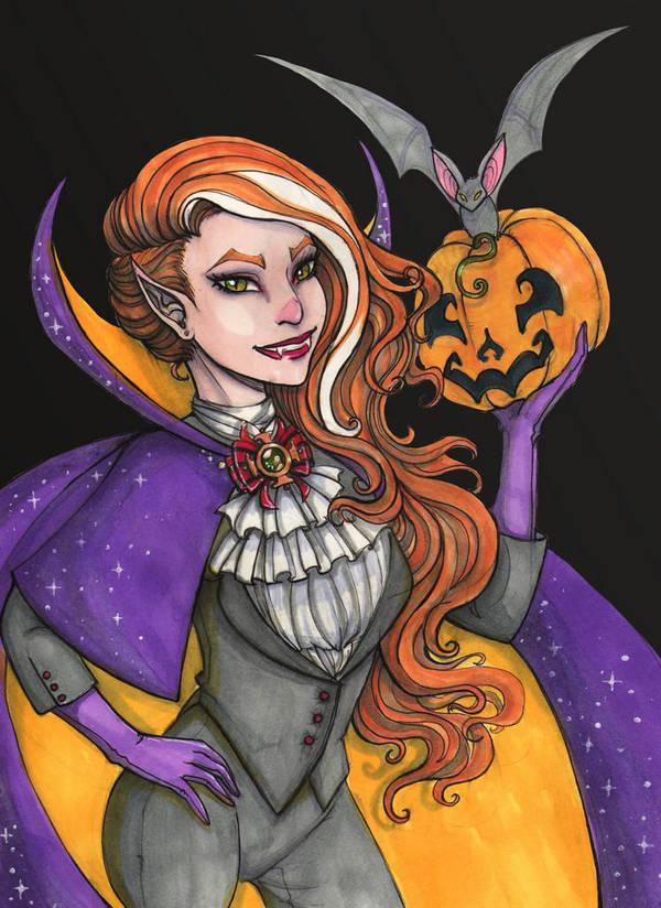 Vampire Sofia by maru-redmore