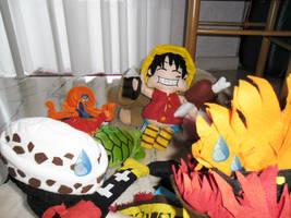 Luffy fan scene by Spizzina00