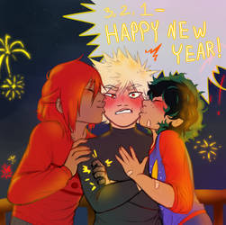 (late) new year art by minnie3693