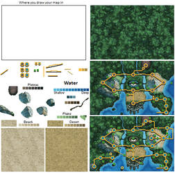 Unova Map Kit by The-Godlings-Rapture