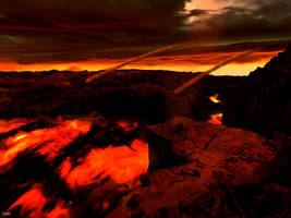 Lava Planet by Doug222